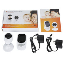 Video nanny fetal doppler IR Night vision Temperature monitor 4 Lullabies Rechargeable battery 2 way talk 2.4 inch doppler fetal