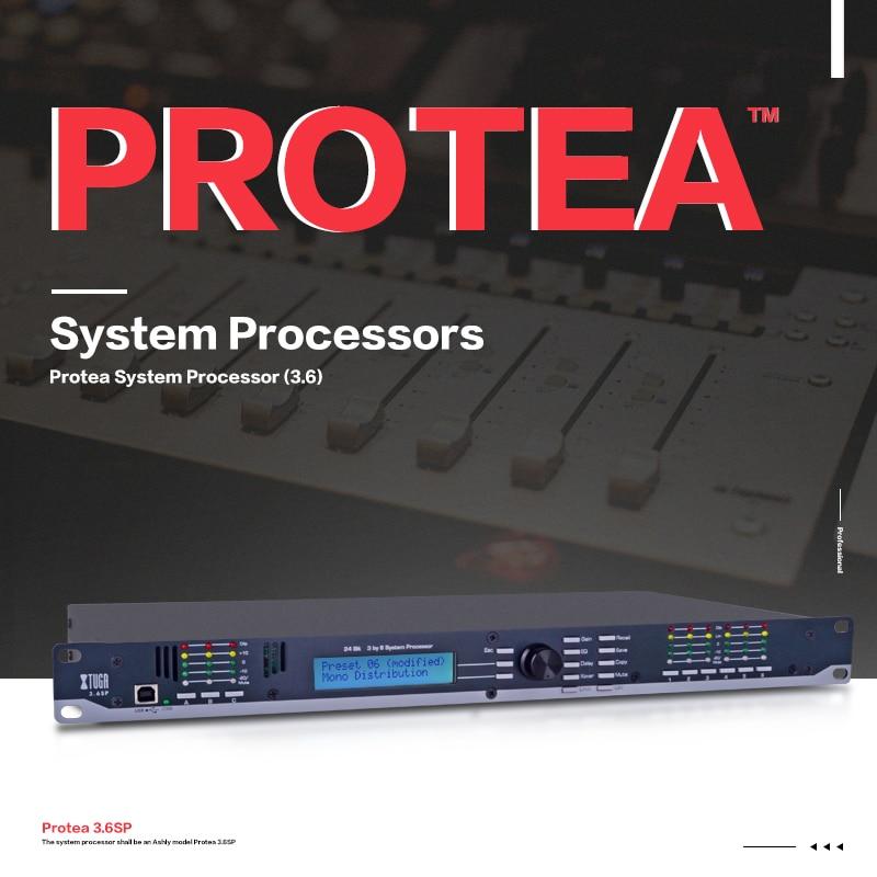 XTUGA 3.6SP sistema audio per la prestazione della fase processore Altoparlante Sistema di Gestione 3 Ingresso 6 Uscita audio digitale proces