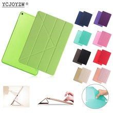 Official Case for New ipad 9.7 inch (2017 2018):A1822`A1823`A1893`A1954,YCJOYZW PU Leather Cover+TPU soft Smart Auto Sleep CASE цены онлайн