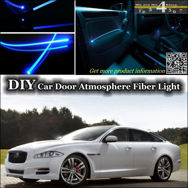 For Jaguar XJ X350 X358 XJ351 XJ6 XJ8 Vanden Plas XJR Interior Ambient  Light Tuning Atmosphere