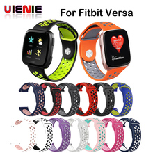 Soft Silicone Replacement Sport Wristband Watch Band Strap for Fitbit Versa Bracelet Wrist Watchband Colorful New Arrival