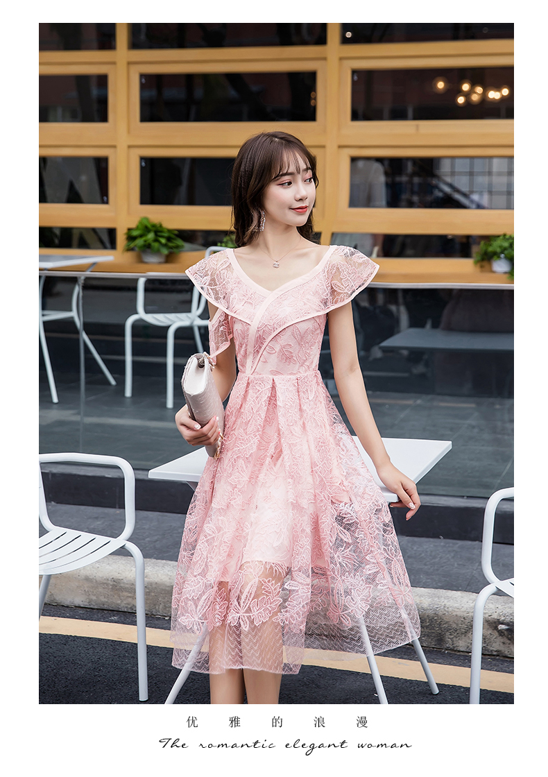 Plus Size Summer lace long Dress Ruffled collar sequins irregular sexy beautiful slim fit party dress casual longos VestidoXXXXL