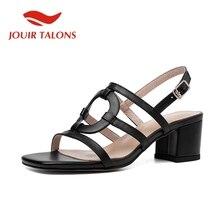 JOUIR TALONS Brand New INS Hot Cow Leather Sandals Women Sum
