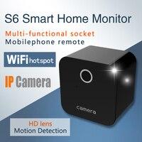 IP Camera S6 Wifi Mini Camera HD 1080P Night Vision Video Audio Camcorder Small Recorder Endoscope for Android IOS PK sq11 sq12