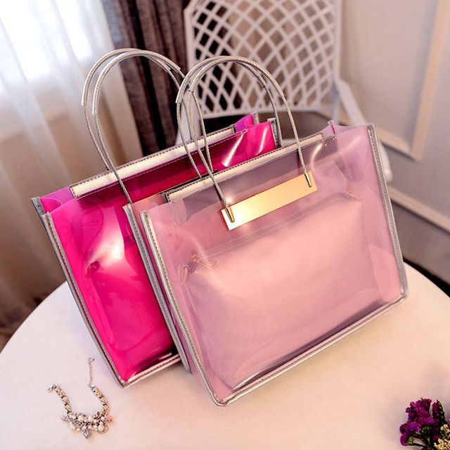 2017 Summer Handbags New Wave Of European And American Fashion Jelly PIP  Package Chain Shoulder Bag