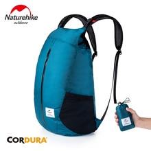цена Naturehike Ourdoor Sports Shoulders Bag Folding Backpack Ultralight Water-resistant Travel Storage Bag 25L for Men Women
