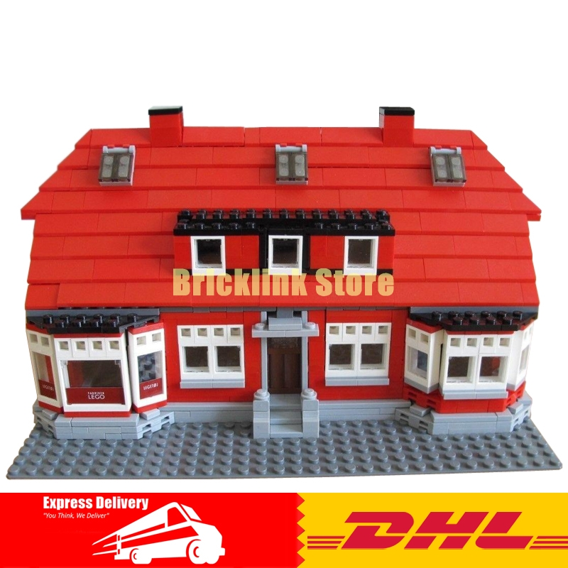 IN STOCK Lepin 17006 928Pcs The Red House Set 4000007 Education Building Kits Blocks Bricks Model Toys For Children Gift lepin creator home 17006 928pcs the red house set model 4000007 building kits blocks bricks educational toys for children gifts