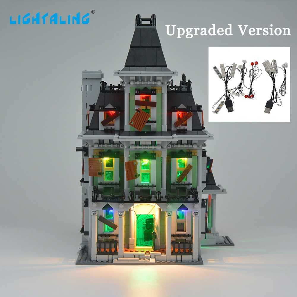 Lightaling Light LED Kit For Haunted House Upgraded/Original Light Compatible With 10228 And 16007
