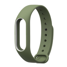 Replace Strap for Xiaomi Mi Band 2 MiBand 2 Silicone Wristbands for Xiaomi Band 2 Smart Bracelet 15 Color for Xiomi Mi Band 2