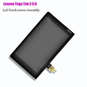 Image 3 - レノボヨガタブ 3 8.0 YT3 850M YT3 850F YT3 850L Lcd ディスプレイとタッチスクリーンデジタイザ国会オリジナル