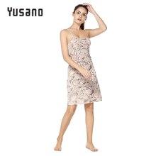 Здесь можно купить  Yusano Sleep Dress Sexy Nightgown Sleepwear Spaghetti Strap Women Nightdress Sexy Lingerie Plus Size S -XXL Female Nightie