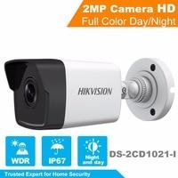 2017 HiK New 1080P Security Camera DS 2CD1021 I 2MP DWDR IP Camera Ourdoor