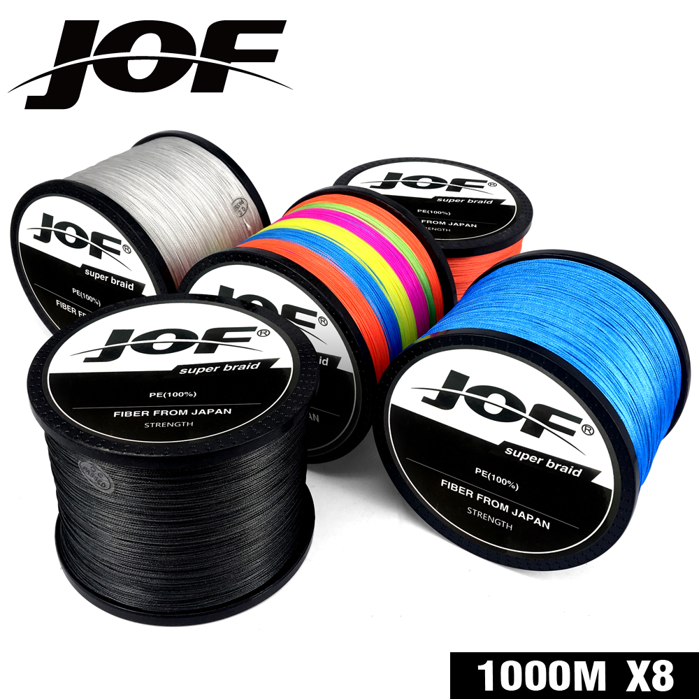 2019 New Brand 300M 500M 1000M PE Braided Fishing Line 8 strands 4 strands 18-88LB Multifilament Fishing Line