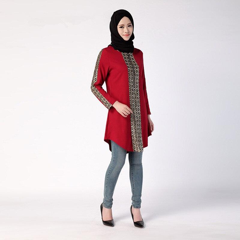 Detail Feedback Questions about New Jilbabs Long Sleeve Abayas Caftan Arab Women  Dress Turkey Dubai Style Middle East Muslim Women Above Knee Mini Fashion  ... ba9fc3be5cbd