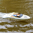 Large remote control boat 7004 74cm 2.4G RC Boat double Motor drive Speeds/High Speed Racing Boat with 1800mah battery vs H101