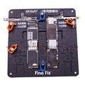 3 Unids/lote Precisión reparación de la placa base placa de Circuito PCB fixture soporte para iPhone 6 6 s + 5S 5C + 6 P 6 S plus PCB clamp