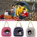 Portable Thermal Insulated Lunch Bag Lunchbox Storage Bag kids Carry picinic Food Tote
