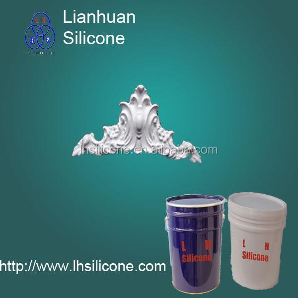 liquid silcione rubber for many gypsum things replication