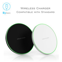 10W Qi Wireless Charger for iPhone X Xr MAX Huawei Fast Wireless Charging pad for Samsung S10/S10+ S9 Note 9 9+ S8 Xiaomi mi 9(China)