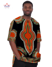 African Print Dresses Dashiki for Men 6XL t Shirts Men Half Sleeve Mens Shirts Brand Clothing Plus Size African Clothes WYN08