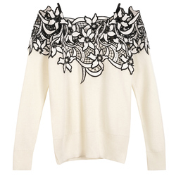 latest sexy pullovers female early spring 2017 long sleeve starpless hollow out black beige casual.jpg 250x250