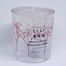 Love Wedding Candle Glass Crystal Gift Wax Christmas Scented Candles In Romantic Verjaardag Kaarsjes White 50KO383