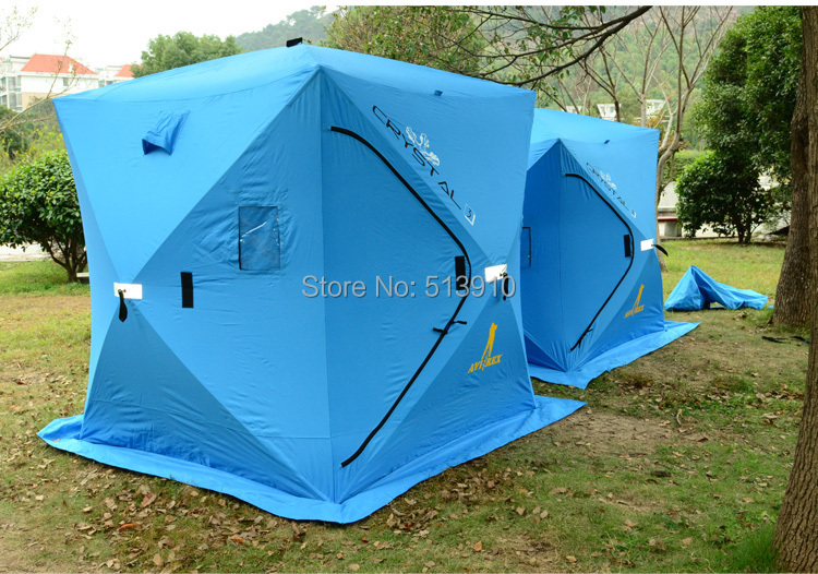 3Persons ice fishing tent original export to Russian/Winter cold weather waterproof fishing tent-in Tents from Sports u0026 Entertainment on Aliexpress.com ... & 3Persons ice fishing tent original export to Russian/Winter cold ...