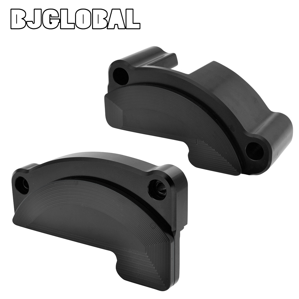 BJGLOBAL CNC Left Right Engine Protective Cover Guard Falling Protector Sliders for KTM 1290 Super Duke R GT RC8 R in Covers Ornamental Mouldings from Automobiles Motorcycles