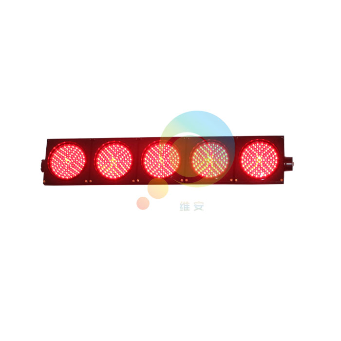 New Exclusive 200mm Playground Led Signal Light 5 Units Mix Red Green Traffic Light