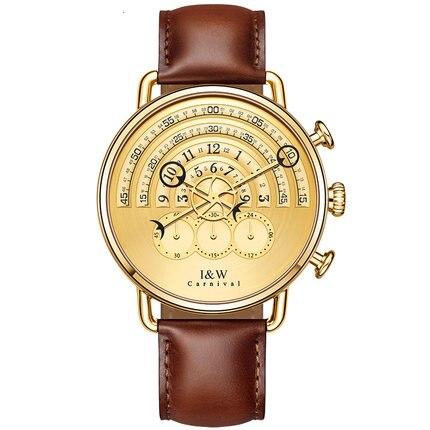 Carnival IW 8816G New Style Mens Concept Chronograph Quartz Watch Wristwatch mi b2y iw