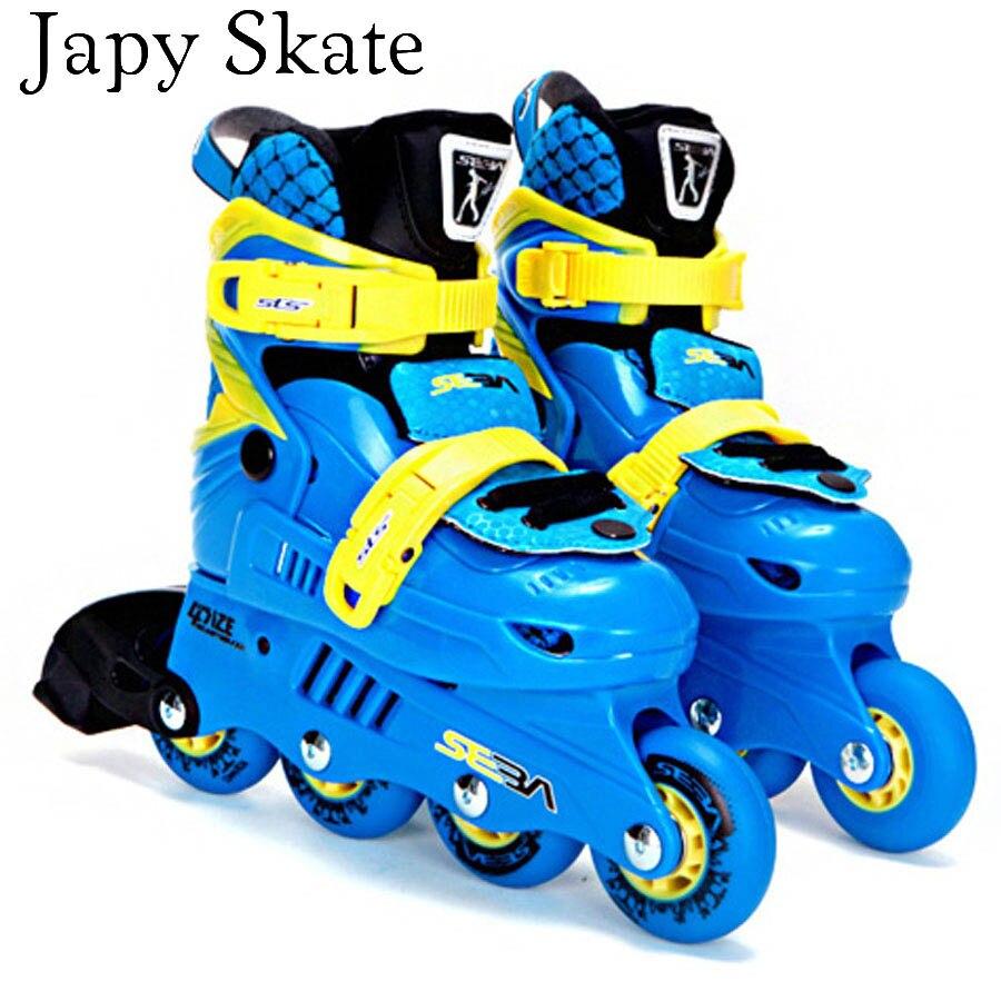 Japy Skate SEBA-JR Junior Adjustable Children s Professional Slalom Inline  Skates Kid s Roller Skating Shoes b0ee517f78