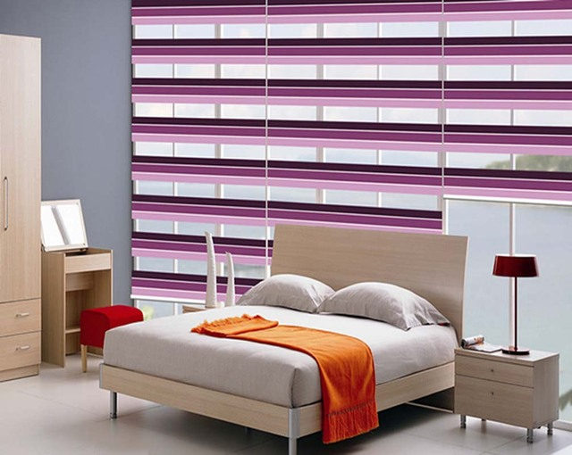 Korean Three Color Top Interior Shutter Blinds Soft Gauze Double Cover  Kitchen And Bathroom Water Curtains