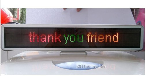 LED Message Sign Scroll Moving Display 21