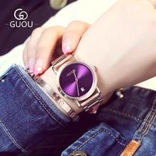 New Fashion Women Watches Girl Bracelet Simple Rose Gold Quartz Wrist Watch Ladies Waterproof Clock Montre Femme Top Brand Saat
