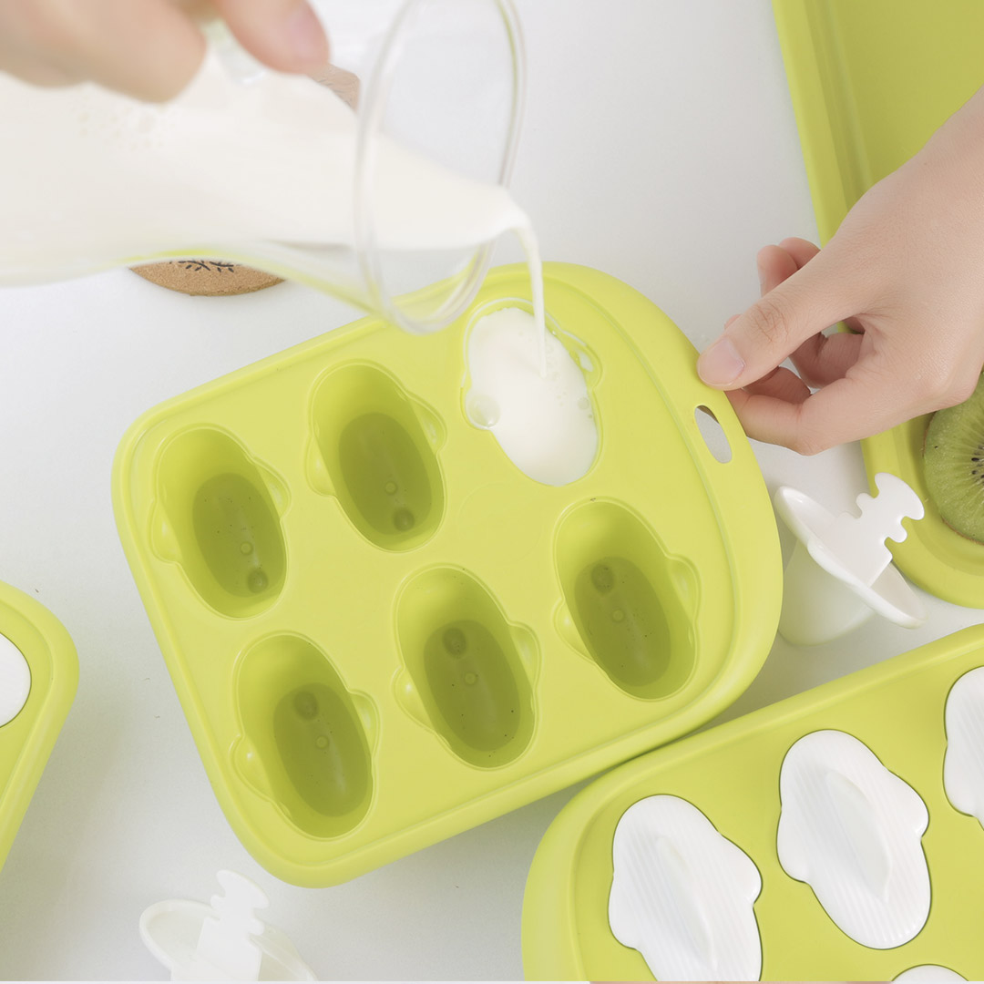 Image 5 - Xiaomi 6 Grids Food Grade Icy Tray Cute Whale Shape Ice Cream Popsicle Mold Creative Small Fruit Ice Cube Maker For Kitchen-in Smart Remote Control from Consumer Electronics