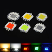 COB LED Lamp Chip white/Red/Green/Blue High Power Integrated LED Bulb Flood Lamp 10W 20W 30W 50W 100W For LED Spotlight Lighting(China)