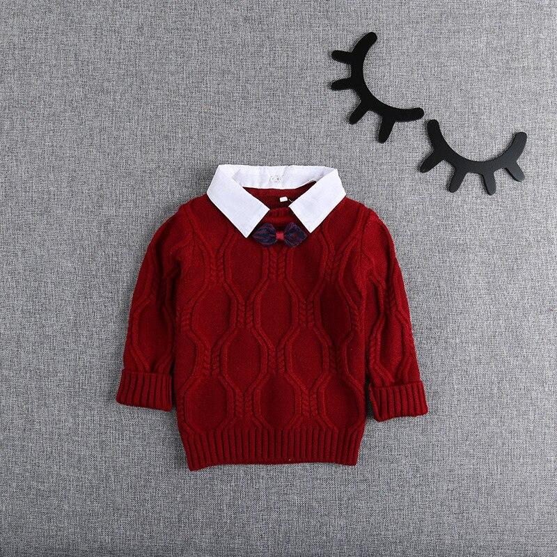 Autumn-Winter-Knitting-Baby-Infants-Knitwear-Long-Sleeve-Gentleman-Knit-Boys-Bow-Sweater-Outwear-Pullover-Camisola-Sweater-S5475-4