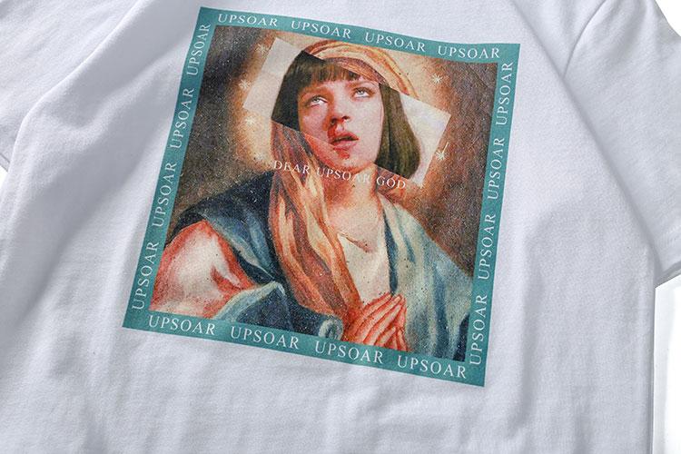 Virgin Mary Men's T-Shirts 7