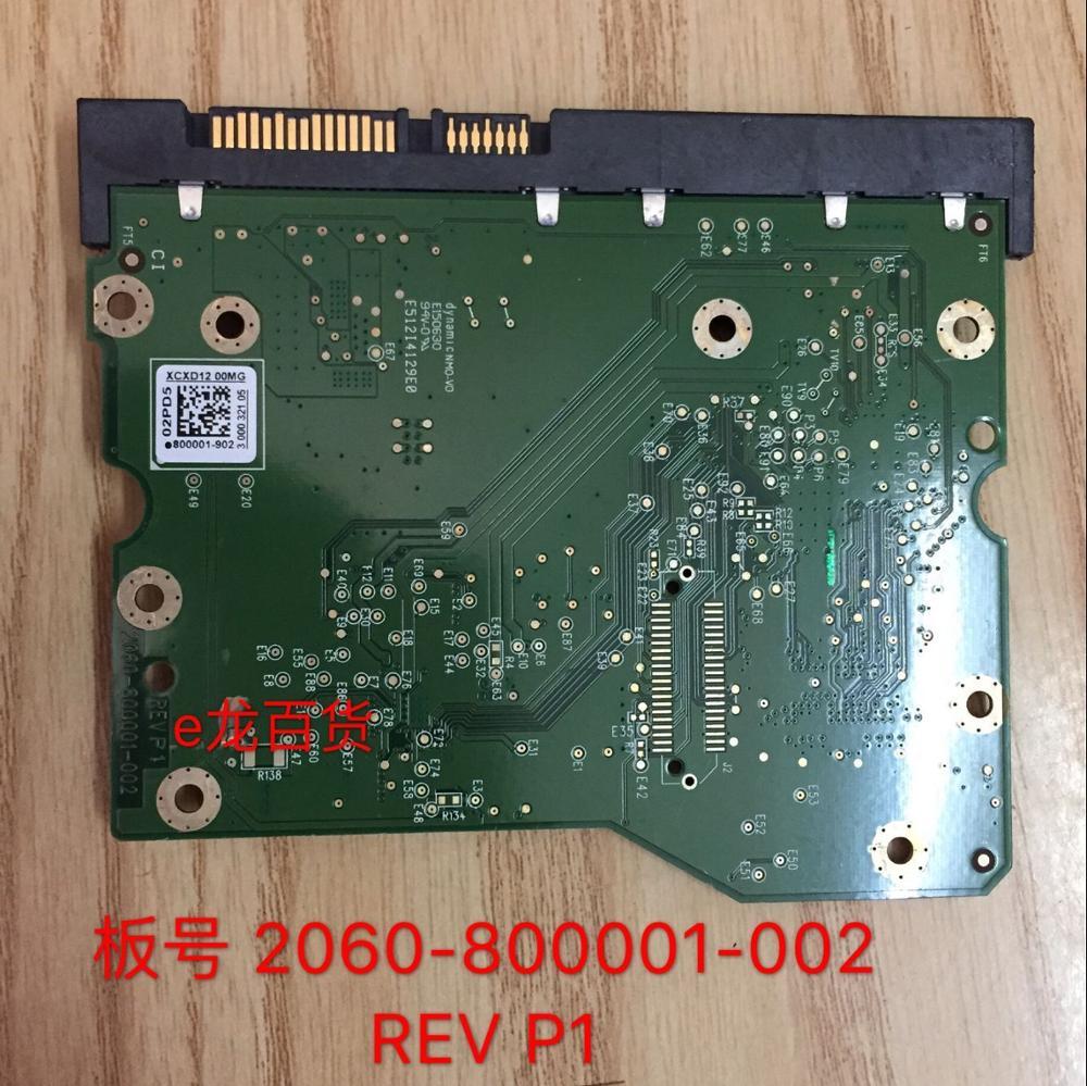 HDD PCB Circuit Board Logic Board Printed Circuit Board 2060-800001-002 For WD 3.5 SATA Hard Drive Repair Data Recovery