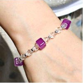 Magical Bracelets UV illuminant test chains Unisex Color Changing bracelet fashion beaded bracelet for girl 50pcs wholesale!