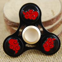 Hot Selling EDC Toys Triangular Hand Spinner High Quality Metal Profession Naruto Spinner ADHD Tri Spinner