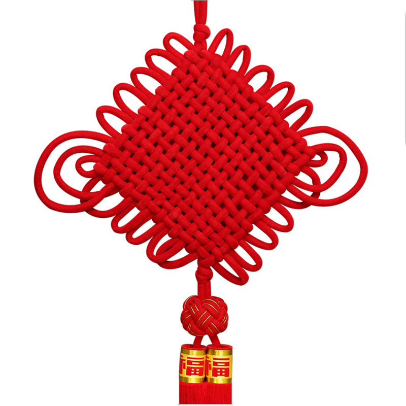 DIY Chinese Knots Pendant Gifts New Year Hanging Decoration Stage Properties Home Decor Family Presents Chinese Culture and Art in Tassel Fringe from Home Garden