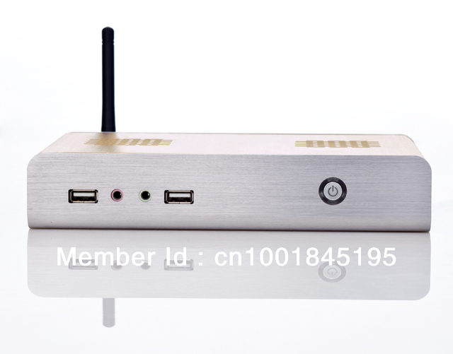 2013 Latest Wirelss Mini Computer Thin Client PC Station Mini PC with CPU Intel D525 2GB RAM 32G SSD Win XPE embedded