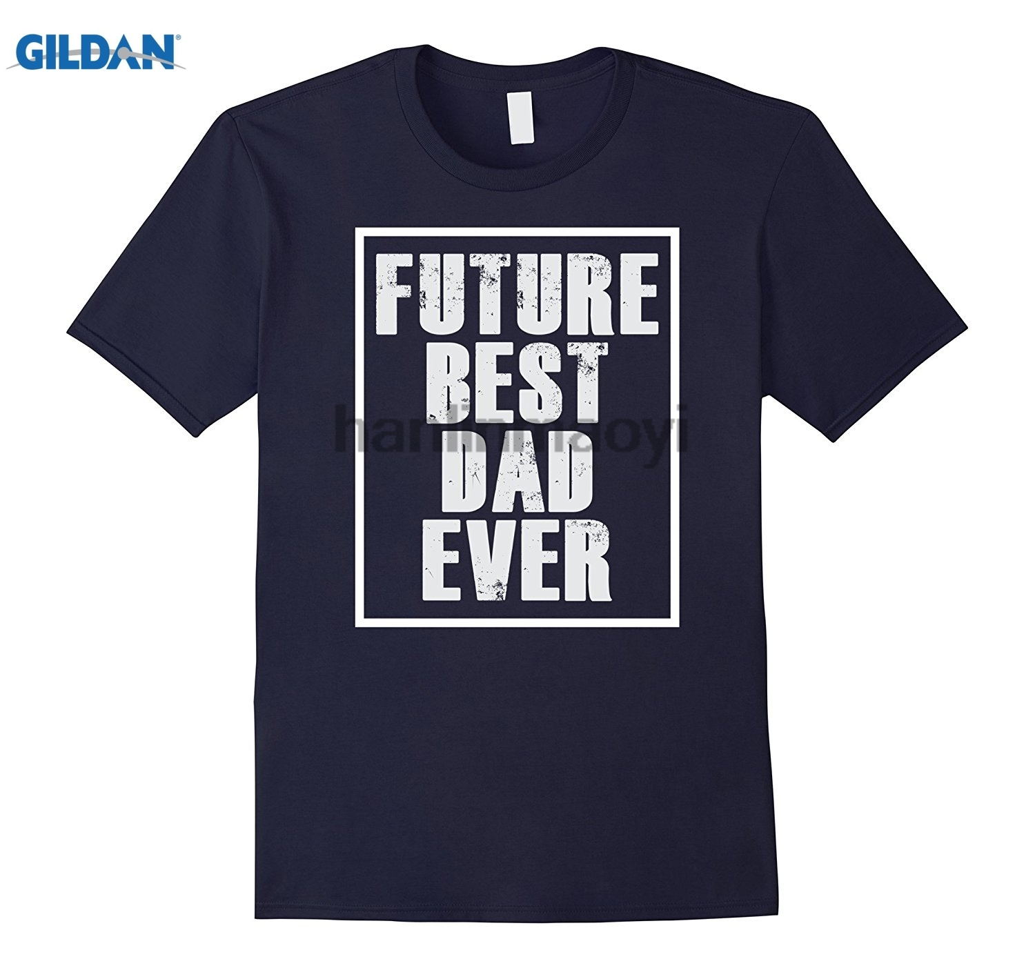 GILDAN Future Best Dad Ever T-shirt for Fathers Day Funny Gift