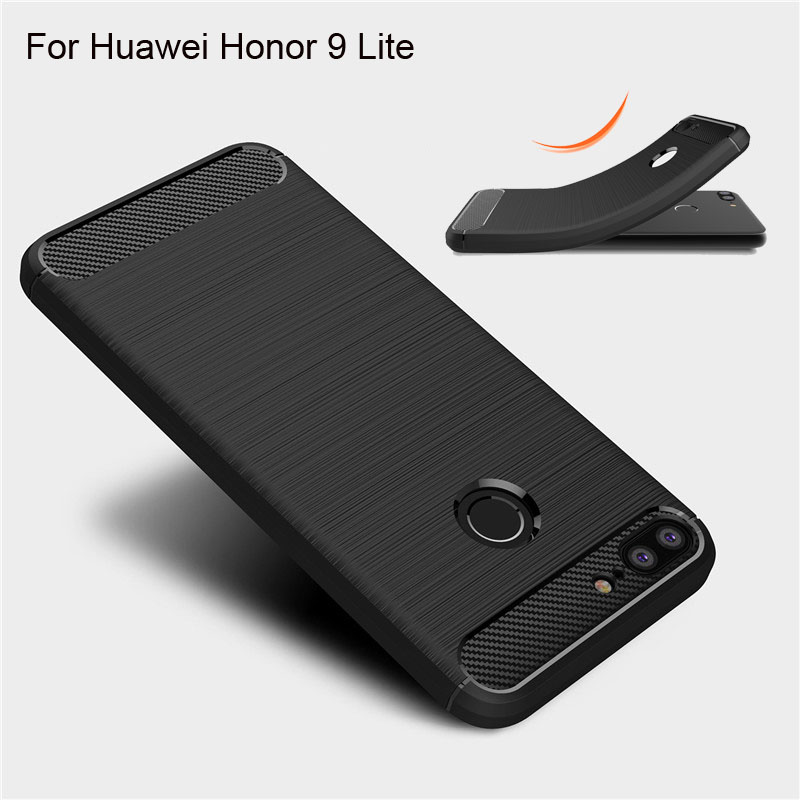 TOHONCASE For Huawei Honor 9 Lite Case Cover Fitted Soft TPU Back Phone Cases