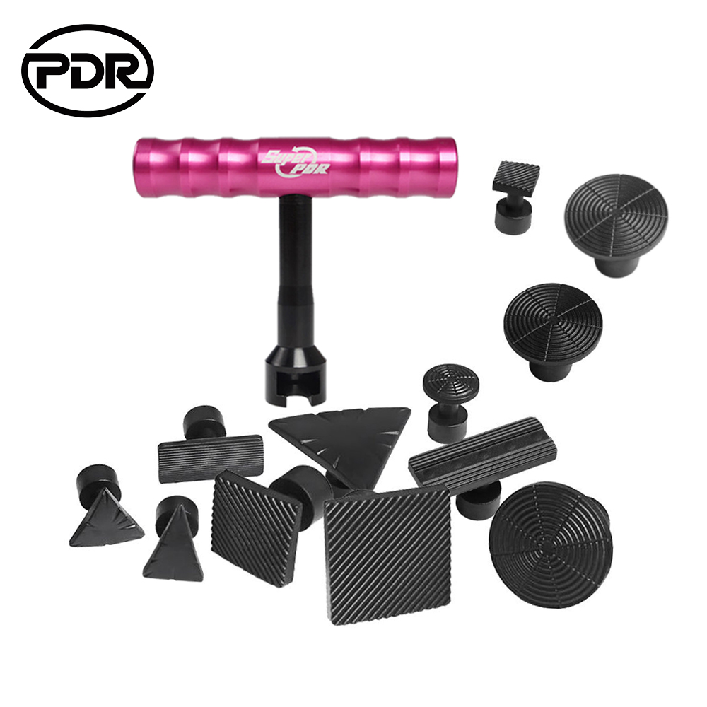 PDR Tools Dent Puller Suctions Cups For Dents Paintless Dent Removal Auto Repair Tool Set Removing Dents Car Repair Kit pdr tools paintless dent removal car repair kit auto repair tool set slide hammer dent lifter suction cups for dents