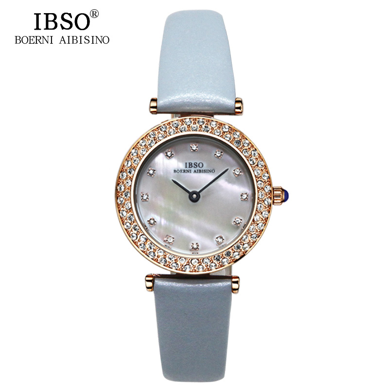 купить IBSO Top Brand Luxury Watch Women Vogue Party Crystal Diamond Ladies Watches 2018 Casual Fashion Quartz Wristwatch Montre Femme по цене 1561.9 рублей