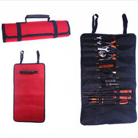 Hardware Tools Roll Bag Plier Screwdriver Spanner Carry Case Pouch Durable Bag