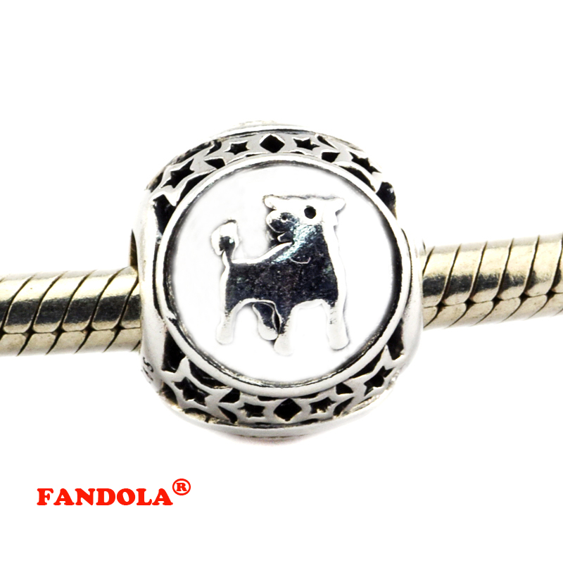 Sagittarius Star Sign Charm Beads Diy Fits Pandora Original Charms Bracelet 925 Sterling Silver Jewelry For Women Men Gift Fl423 Jewelry & Accessories