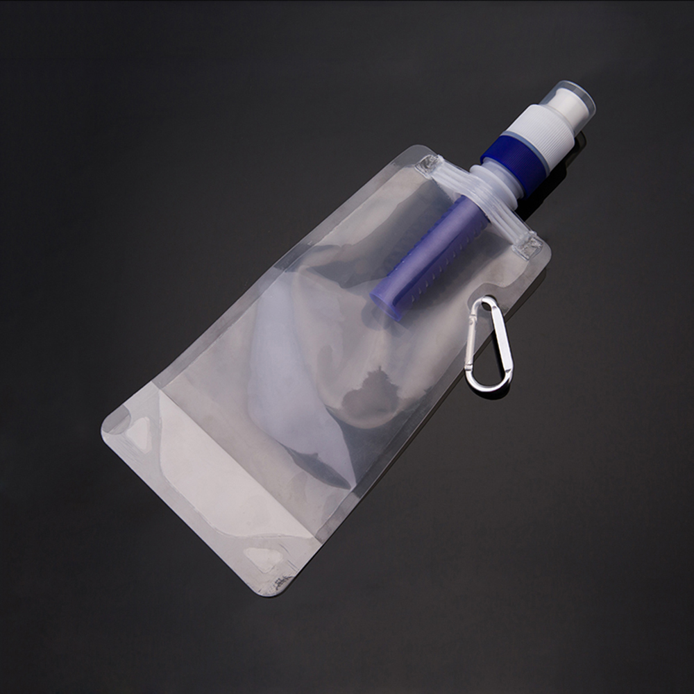 Permalink to Portable Water Bag Flexible Water Filter Bag Bladder Water Filtration Bottle Durable Travel Bag Cycling Running Sport Bottle